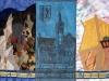 KMS-Chemnitz, Applikationen und Handstickerei auf Keilrahmen, 100x63 cm (© 2013 Jan Bejšovec)