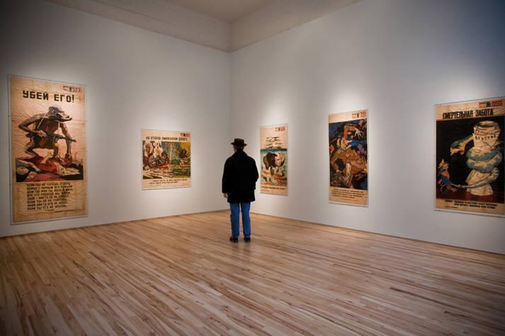 Die, Nazi Scum!, exhibition view (©2011 Andrew Edlin Gallery)