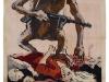 "Kill Him, 105\"" x 46\"", stencil and gouache on paper (July 1942, Kukryniksy and Konstantin Simonov)"