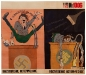 """Speech - Hysterical, Attack - Historical, 40.75\"""" x 48.75\"""", stencil and gouache on paper (27 June 1944, Kukryniksy)"""