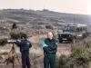 Griechisch-Bulgarische Frontex Patrouille, an der Grenze Griechenlands  zur Türkei in der Evros Region, Januar 2012 (© Julian Roeder / OSTKREUZ)