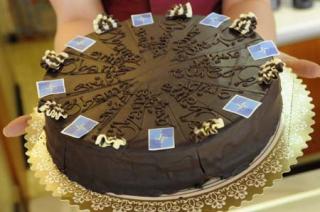 NATO Cake (Reuters)