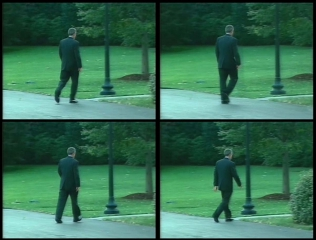 6:57 P.M., video stills (©2011 Jens Kloppmann)