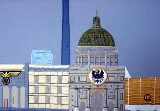 Reichsstadtpalast (Detail), 65x120cm (© Jan Bejšovec)
