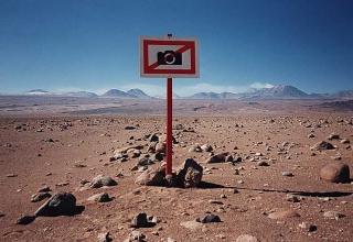 Fotografieren verboten! Atacama Wüste, Chile, 1995 (© Kurt Buchwald)