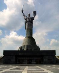 Motherland (Родина Мать) in Kiev
