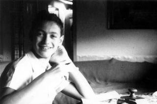 Thomas Geve in einem Schweizer Heim, Sommer 1945 (Foto: privat)