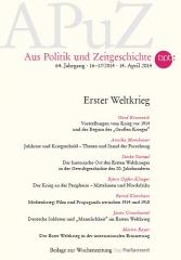 Aus Politik und Zeitgeschichte 16-17/2014 (Titel)