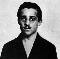 Gavrilo Princip during his imprisonment