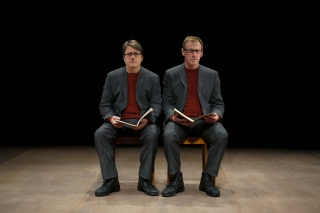 The Notebook: Robin Arthur & Richard Lowdon (© Tim Etchells)