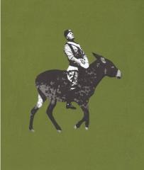 """Benito Mussolini, a.d.S. """"Diktatoren mit Tieren"""" (©2005-2012 Jens Kloppmann)"""