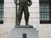 Statue of a kamikaze pilot